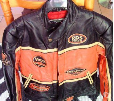 Photos Vivastreet Blouson de moto tout cuir de marque REDSKINS