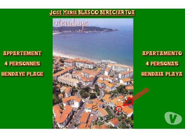 location saisonniere Pyrénées-Atlantiques Hendaye - Photos Vivastreet Location meublée dans résidence située à 100m de la plage.