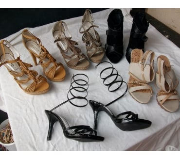 Photos Vivastreet Chaussures d'été à talons pointure 38-neuves