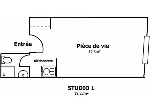 Photos Vivastreet STUDIO étudiant 20 m² LA ROCHELLE HYPERCENTRE rentrée 2016
