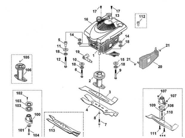 pi ces pour tondeuse viking mb 455 c le val d 39 ajol. Black Bedroom Furniture Sets. Home Design Ideas