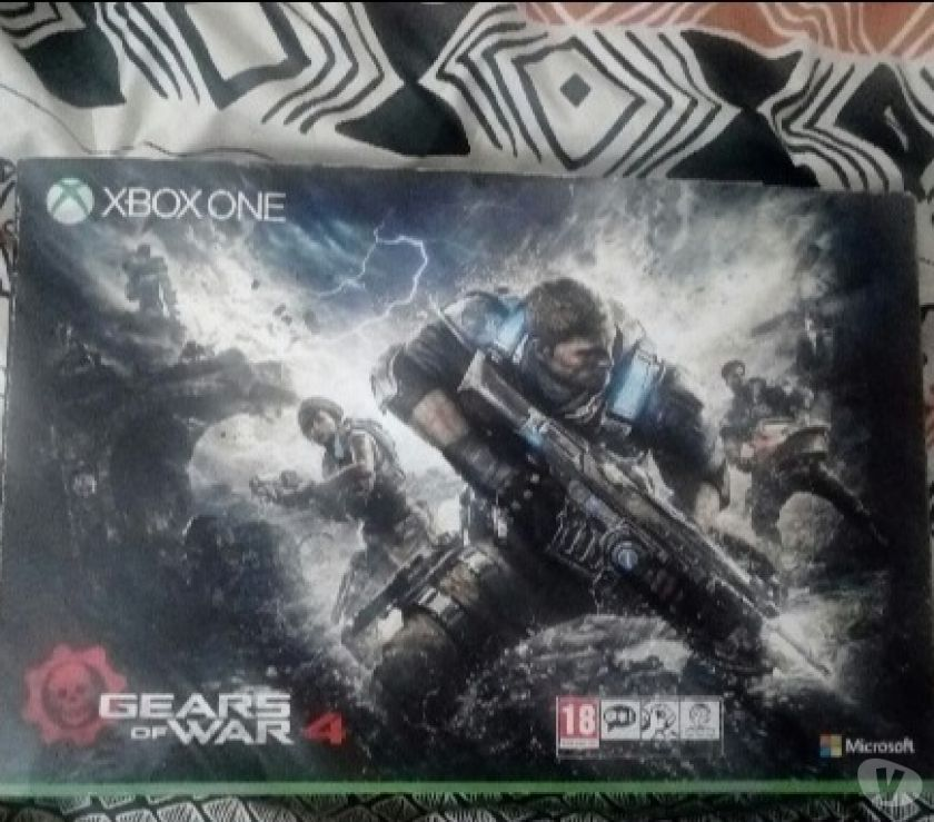 Photos Vivastreet X box one s édition Gears of War 200€ avec 7 jeux