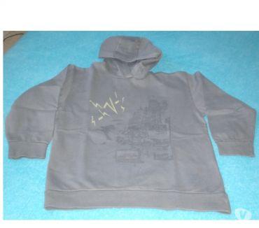 Photos Vivastreet Sweat à capuche gris T 14 ans