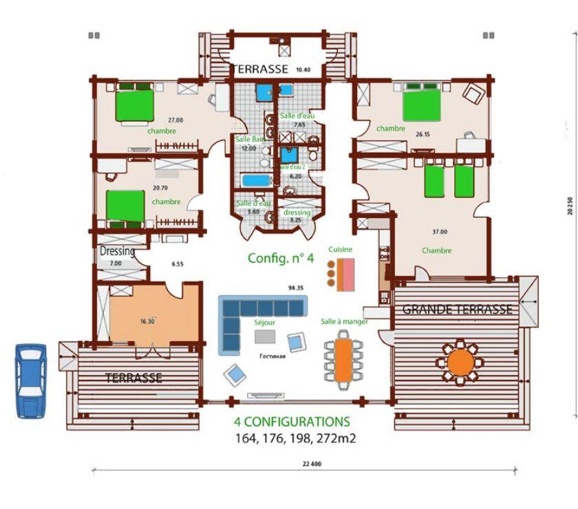 Photos Vivastreet Belle maison archi. Espaces madriers massif (RT2012) Georgia