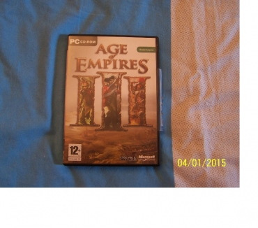Photos Vivastreet JEU PC AGE OF EMPIRE III COLLECTOR