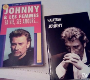 Photos Vivastreet 2 livres Johnny hallyday