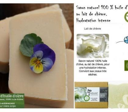 Photos Vivastreet Savon naturel 100% H.Olive au Lait de Chèvre - 120gr
