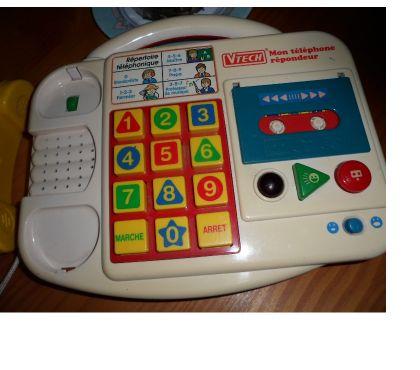 Photos Vivastreet VTECH VINTAGE MON Téléphone Répondeur
