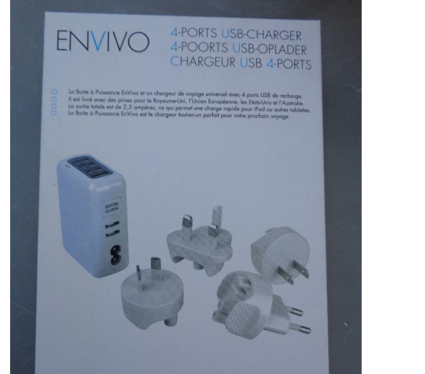 Téléphonie Rhône Decines Charpieu - 69150 - Photos Vivastreet Chargeur USB 4 ports