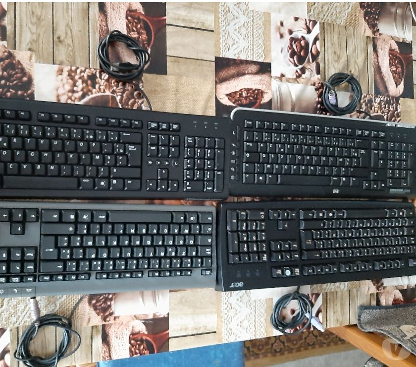 Informatique Nord Somain - 59490 - Photos Vivastreet À vendre un lot de 4 clavier de l'ordinateur de bureau