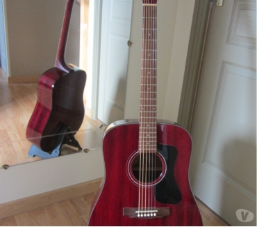 Photos Vivastreet Guitare Guild D125 CHERRY RED +étui rigide Guild