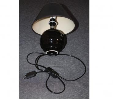 Photos Vivastreet lampe noire haut totale 25 cm 250 volts 60 watts