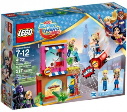 Photos Vivastreet LEGO Le sauvetage d'Harley Quinn 41231