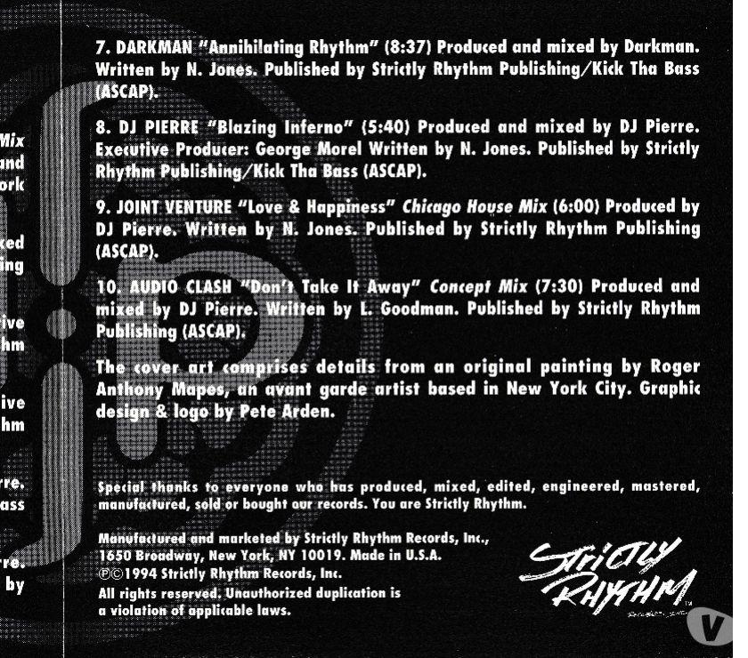 Photos Vivastreet CD DJ Pierre Compilation - Import U.S.