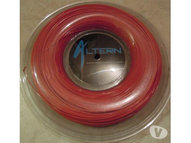 Photos Vivastreet bobine cordage tennis ALTERN Red Ace 200m NEUVE