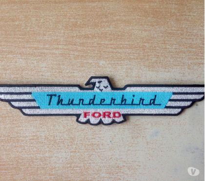 Photos Vivastreet Écusson brodé Ford thunderbird 25x5 cm thermocollant