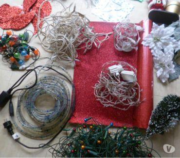 Photos Vivastreet guirlandes électriques, père Noël, déco ....