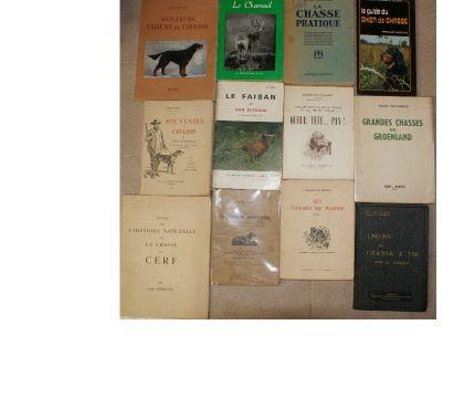 Photos Vivastreet 12 livres chasses et chiens de chasse