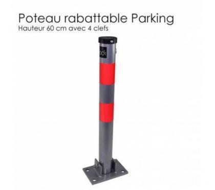 Photos Vivastreet Poteau de parking I rabattable
