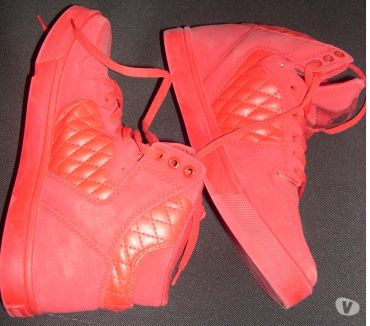 Photos Vivastreet BASKET HAUTE MARQUE CASH MONEY ROUGE P 43