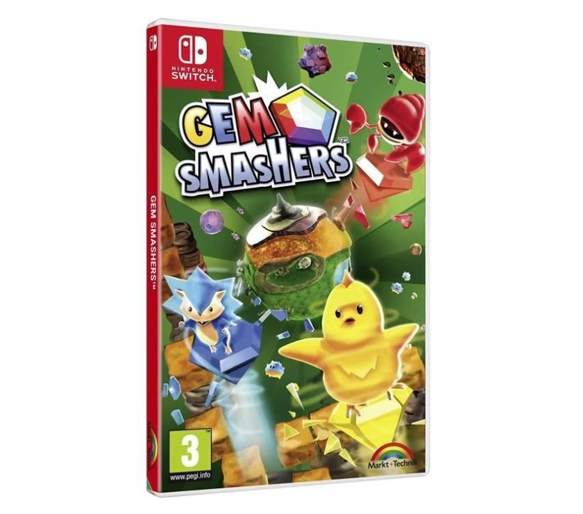 Jeux vidéo - consoles Bas-Rhin Selestat - 67600 - Photos Vivastreet Gem Smashers Nintendo Switch