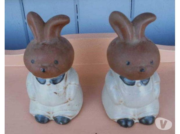 Photos Vivastreet Salière et poivrière en forme de lapin