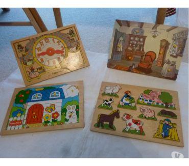 Photos Vivastreet 3 puzzles en bois Fisher-Price et autres