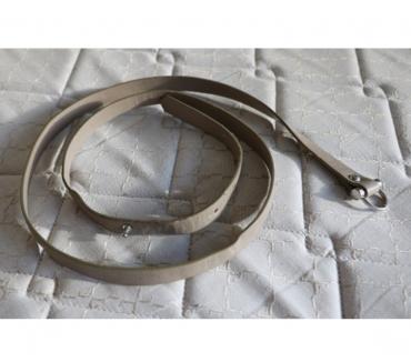 Photos Vivastreet ceinture cuir gris longueur 110 cm largeur 1.5 cm épais 2mm