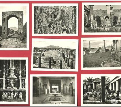 Photos Vivastreet Pochette de 20 petites cartes de POMPEI