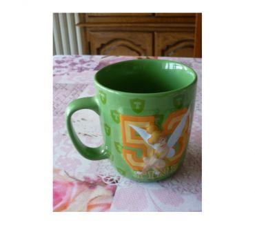 Photos Vivastreet Mug Clochette Tinckerbell Disney store parc 3D relief prince