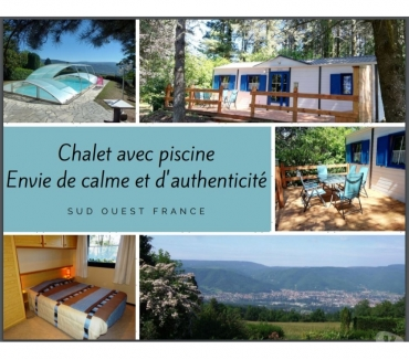 Photos Vivastreet ENVIE de CALME: chalet avec piscine, SO France