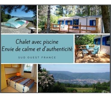 Photos Vivastreet ENVIE de CALME: chalet avec piscine, SO France