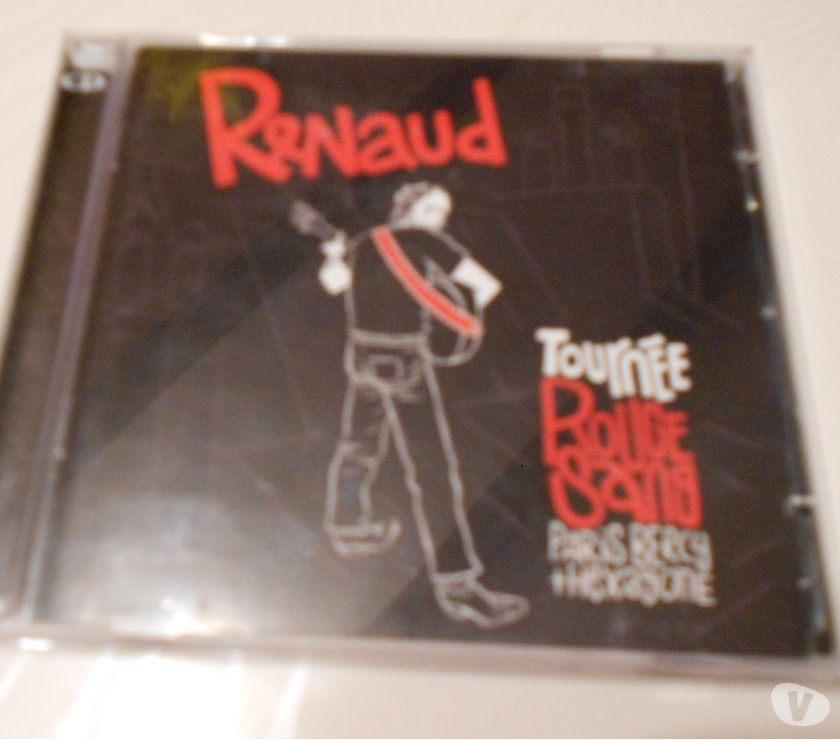 Photos Vivastreet DOUBLE CD RENAUD ROUGE SANG