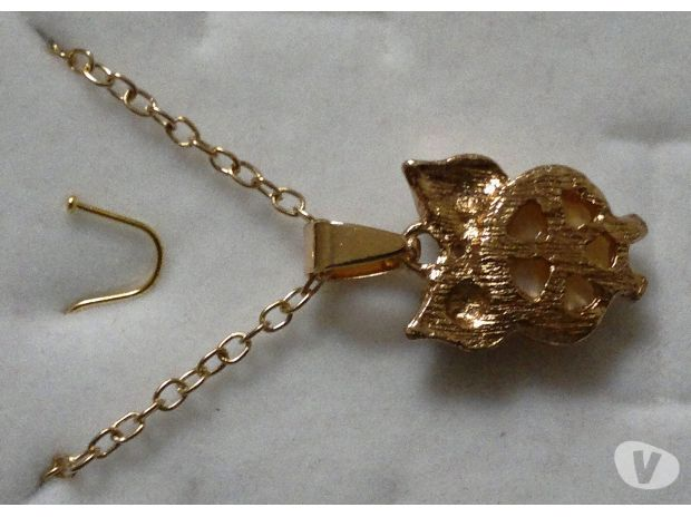 Photos Vivastreet Collier doré pendentif hiboux