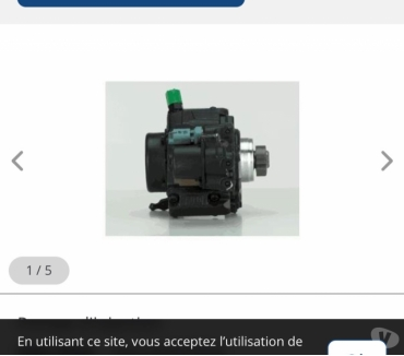 Photos Vivastreet Pompe d'injection DELPHI 9424A050A