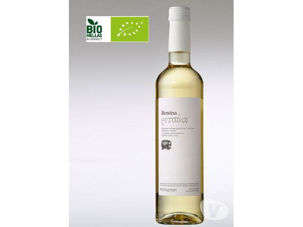 Vins - Gastronomie Gironde Bordeaux - Photos Vivastreet Retsine blanc Roditis-Vin blanc grec résineux 11.5% 0.500 L