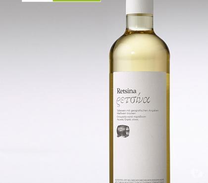 Photos Vivastreet Retsine blanc Roditis-Vin blanc grec résineux 11.5% 0.500 L