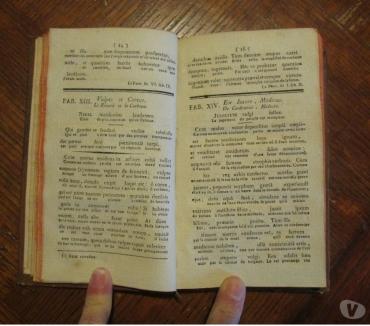 Photos Vivastreet Livre ancien - Fables de Phèdre bilingue
