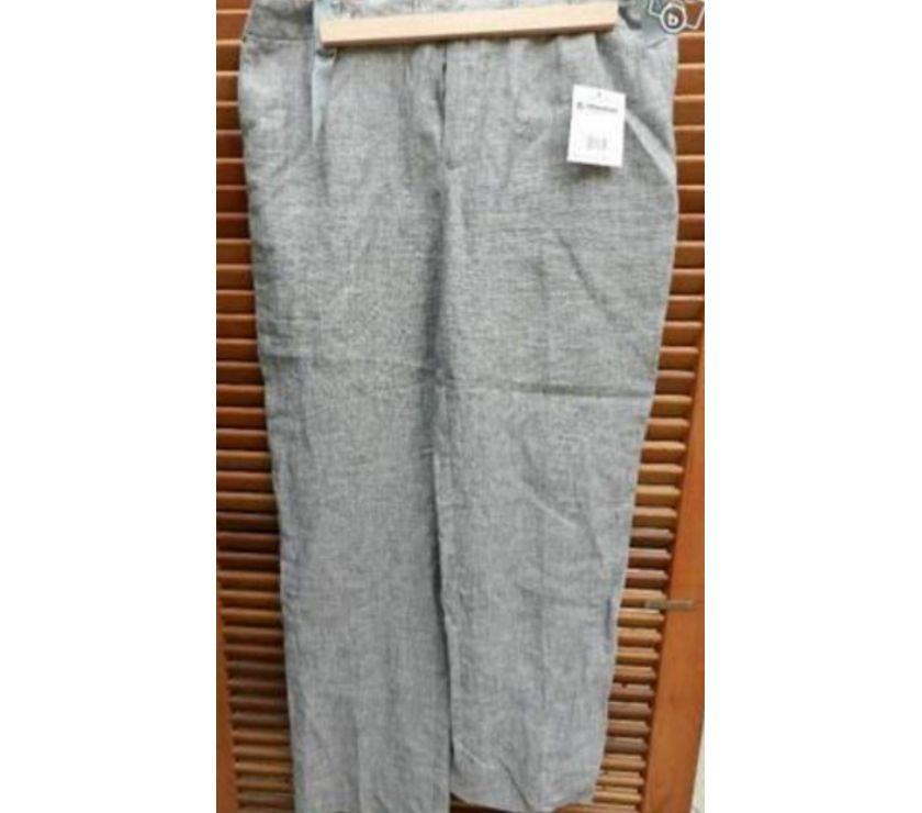 Photos Vivastreet Pantalon en toile gris nuancé perle neuf . Acheté 22 euros.