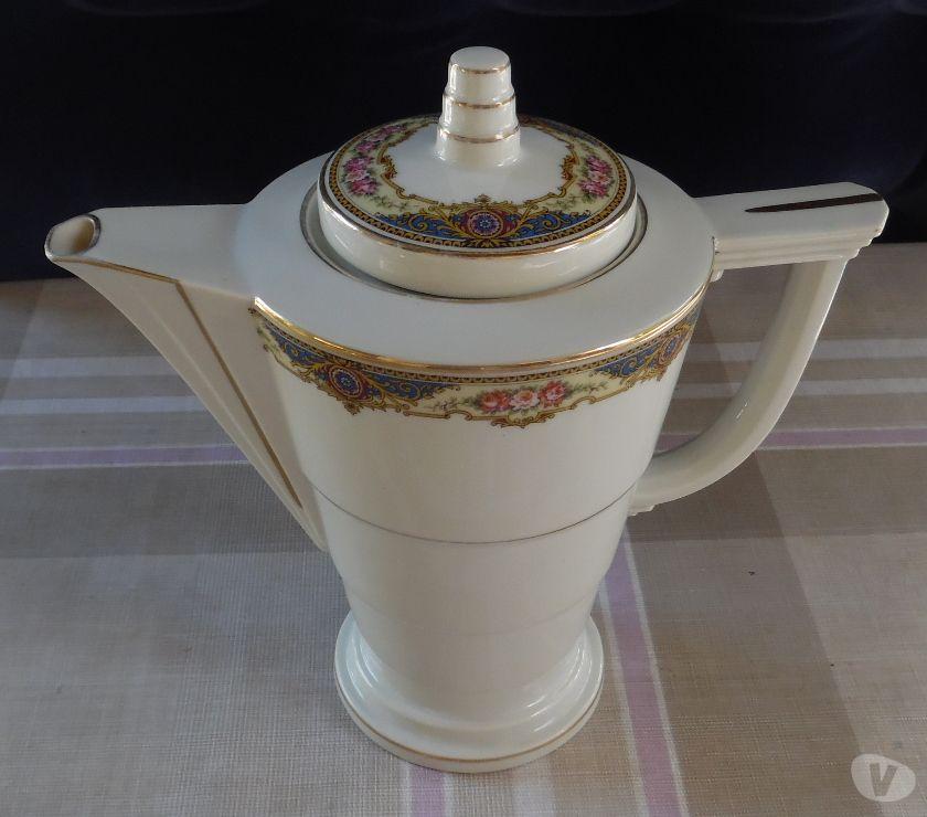 Ameublement & art de la table Hérault Castries - 34160 - Photos Vivastreet Cafetière en porcelaine de Limoges étoile verte porcelain