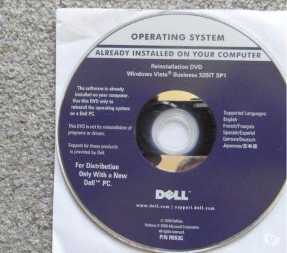 Photos Vivastreet DVD DELL WINDOWS VISTA