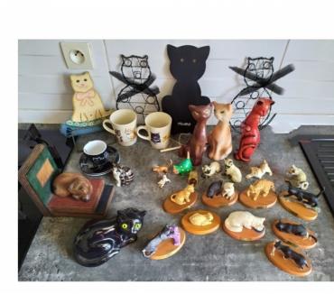 Photos Vivastreet Superbes statuettes de chats toutes matieres et formes