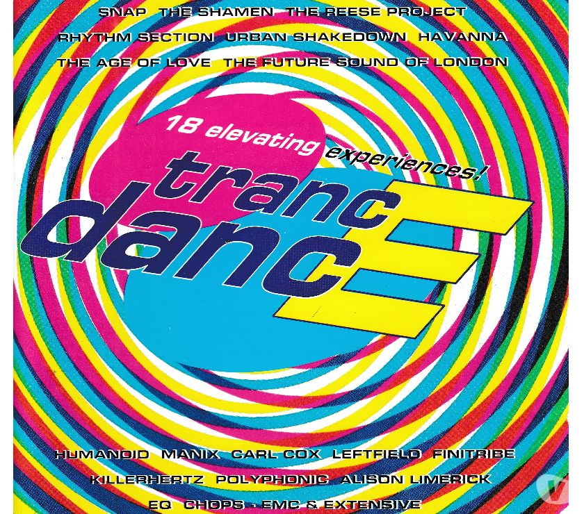 Photos Vivastreet CD Trance Dance - Compilation