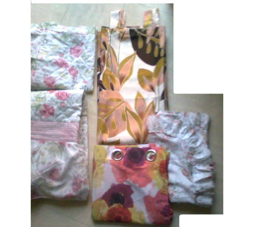 Photos Vivastreet doubles rideaux - couvre lit - taies - zoe