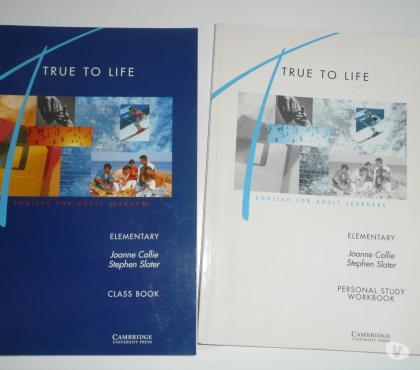 Photos Vivastreet Livres COURS ANGLAIS TRUE TO LIFE ELEMENTARY