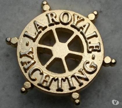 Photos Vivastreet Ancienne broche LA ROYALE YACHTING