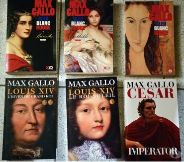 Photos Vivastreet Max Gallo : Louis XIV, bleu blanc rouge, César