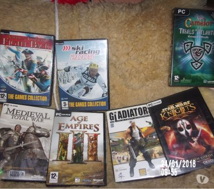 Photos Vivastreet jeux pc lot de 6