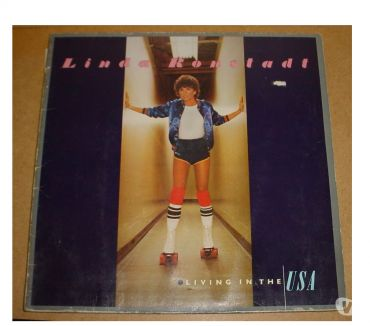 Photos Vivastreet disque vinyle 33T Linda Ronstadt - living in usa