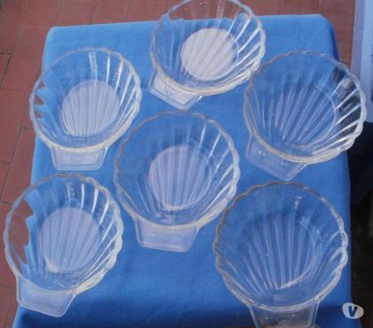 Photos Vivastreet 6 ramequins en verre forme coquille St Jacques